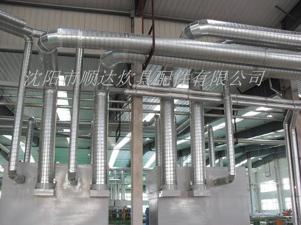 沈阳通风管道 沈阳螺旋风管 消防排烟 工业除尘