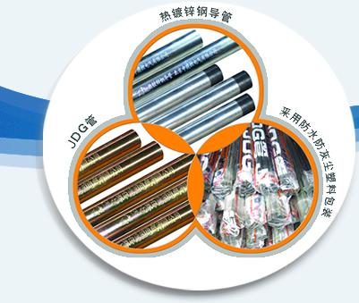 中建控JDG熱鍍鋅電線鋼導管
