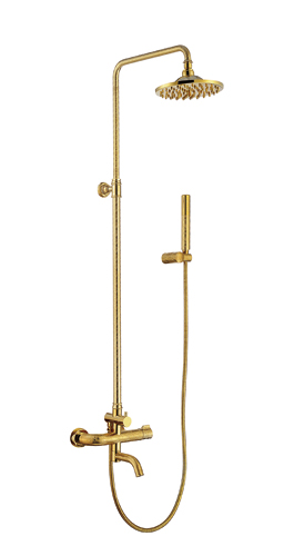 MEL-H120金色淋浴花洒