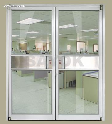 西安玻璃門,西安玻璃平開門,中空玻璃門