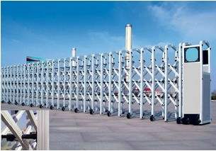 專業安裝福州地區小區伸縮門 工廠伸縮門 學校伸縮門