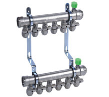DF-A3高档型球阀锻造分集水器