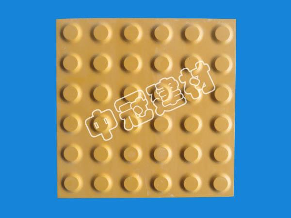 国标型耐磨盲道砖 盲条砖s选中冠耐酸建材
