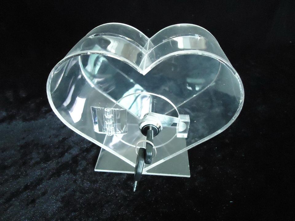 有机玻璃制品,有机玻璃捐款箱