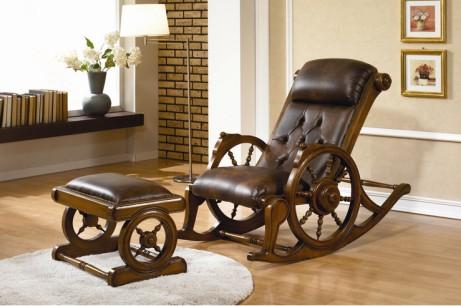 韓國進口桃花芯木YERAM家具--搖椅