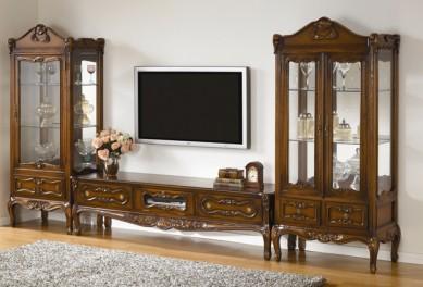 韩国进口桃花芯木YERAM家具--电视柜1