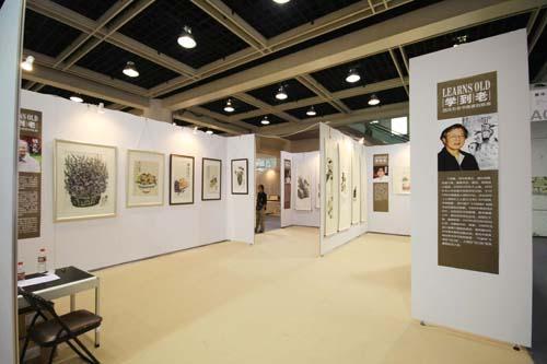标准展位展板销售 八棱柱售价 美术作品展展架