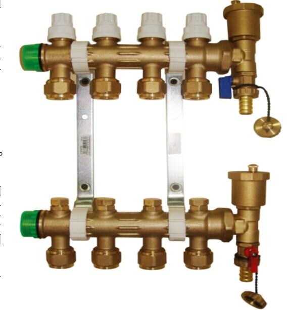 德国萨姆特铜制分水器