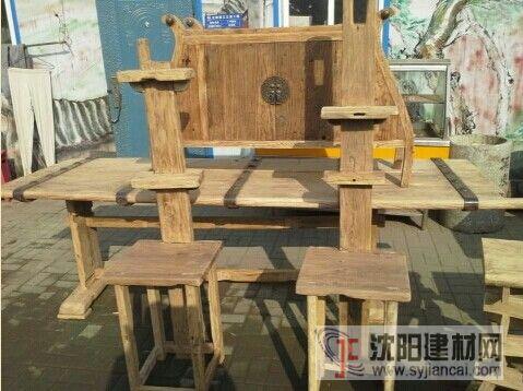 沈阳老榆木桌子定制