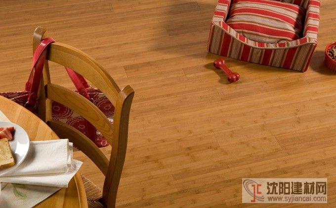 百利出口碳化平压竹地板