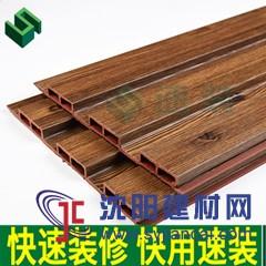 195長城板單筋 生態木環保阻燃板