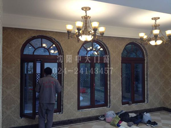 欧式实木窗