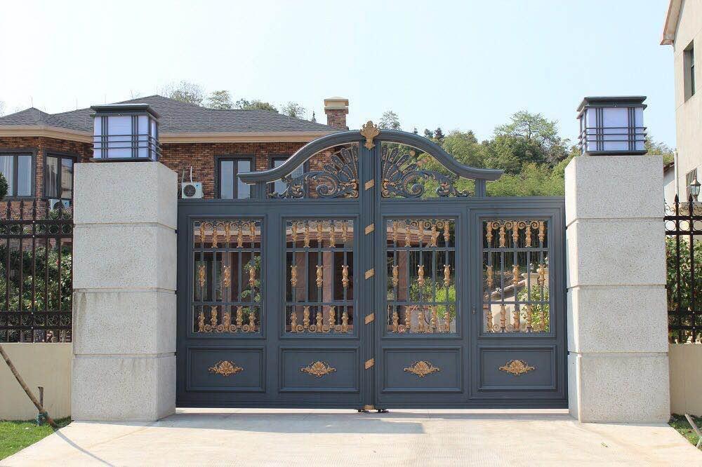 本溪别墅庭院门铸铝门