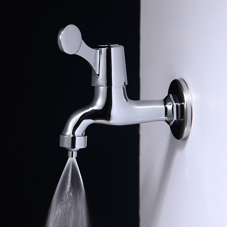 沈阳易安庄环保节水喷雾式中长水龙头水嘴代理