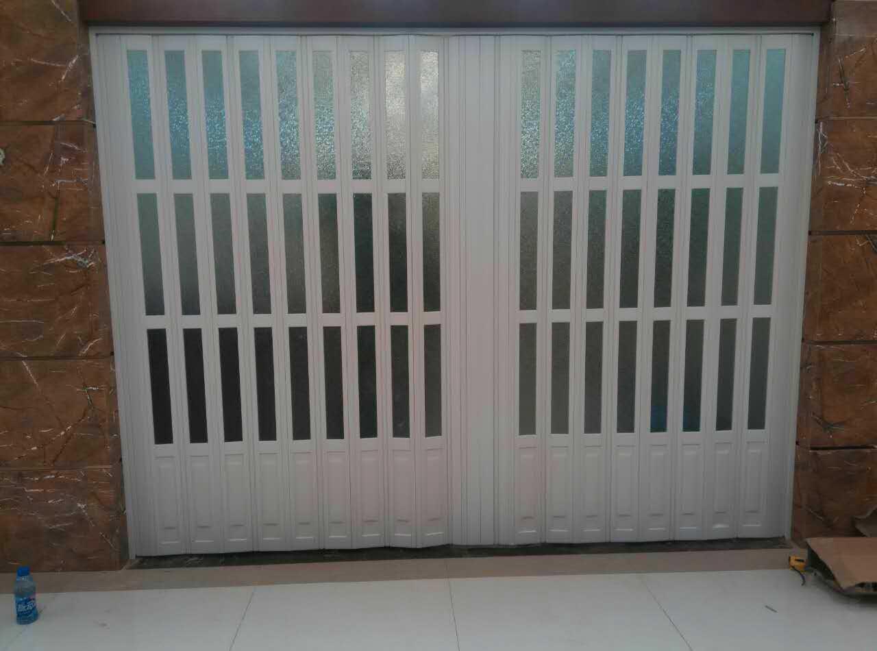 沈陽pvc折疊門推拉門衛生間門