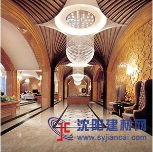 惠达瓷砖超晶玉石金叶米黄800*800