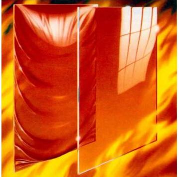 沈阳金晶玻璃硼硅单片防火玻璃
