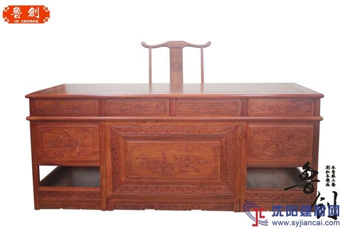 花鸟办公桌