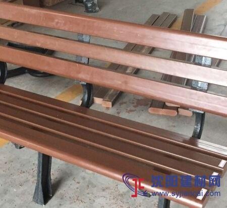 科技木塑木椅凳 1.5米長戶外公園椅子