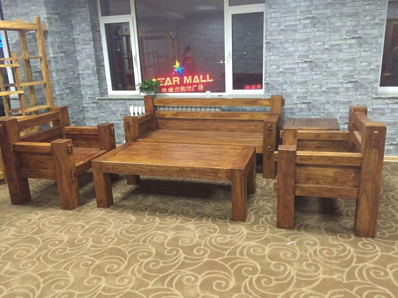 沈陽老榆木椅子定制