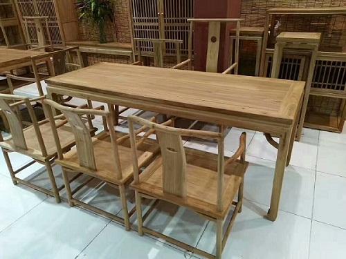 沈阳哪里有定制老榆木桌子的?