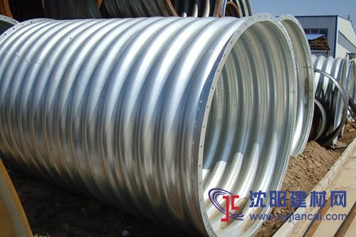 钢波纹涵管厂家Q235金属波纹管涵排水桥涵