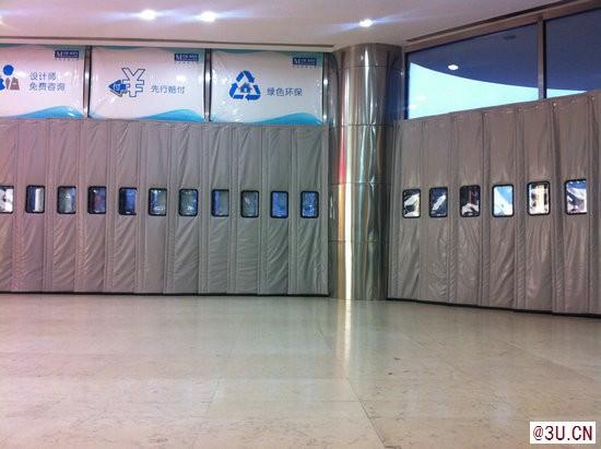 沈阳超市商场棉门帘产品生产安装厂家