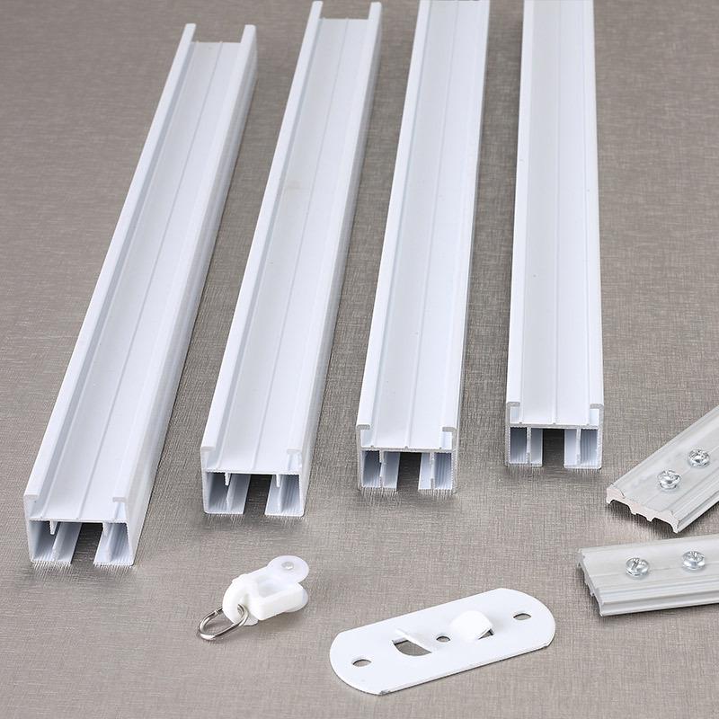厂家直供窗帘轨道方轨佳丽斯电动窗帘轨道导轨