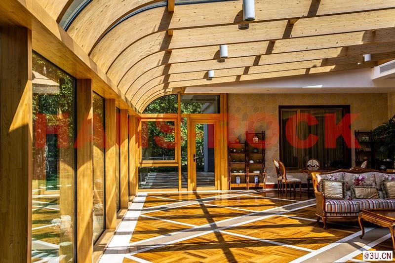 德国原装进口汉斯诺克铝木复合阳光房