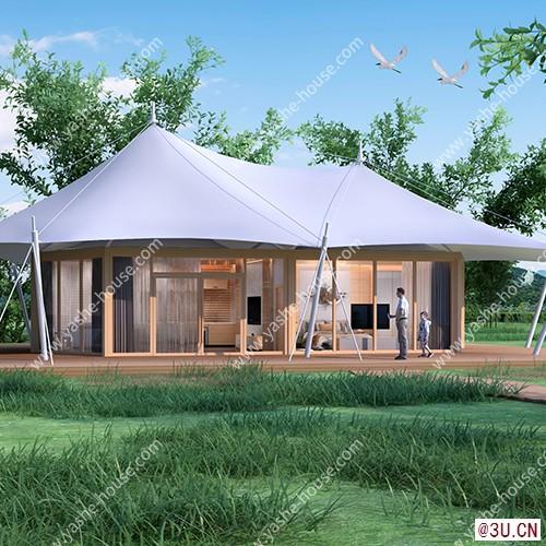 野奢·尚系列雙連頂野奢酒店帳篷