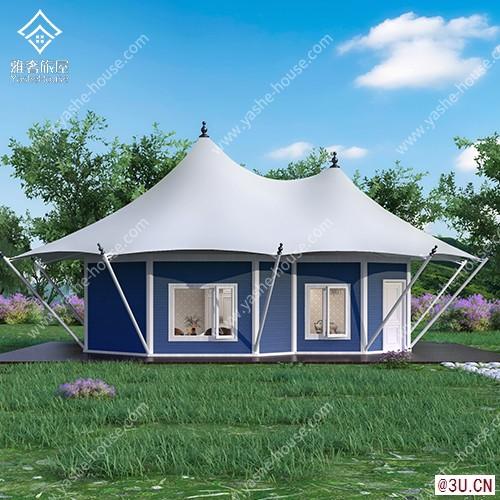 野奢·簡系列雙頂野奢酒店帳篷