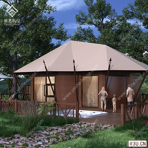 野奢·雅系列度假區野奢酒店帳篷