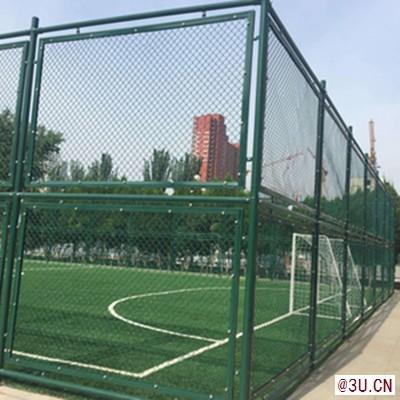 东营体育场护栏网浸塑勾花网足球场防护栏现货